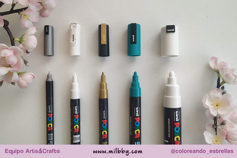 Review Rotuladores Posca