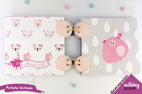 mini album scrapbooking cocoloko scrap milbby