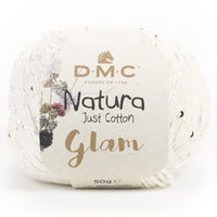 Ovillo Cotton Natura Glam 50gr DMC
