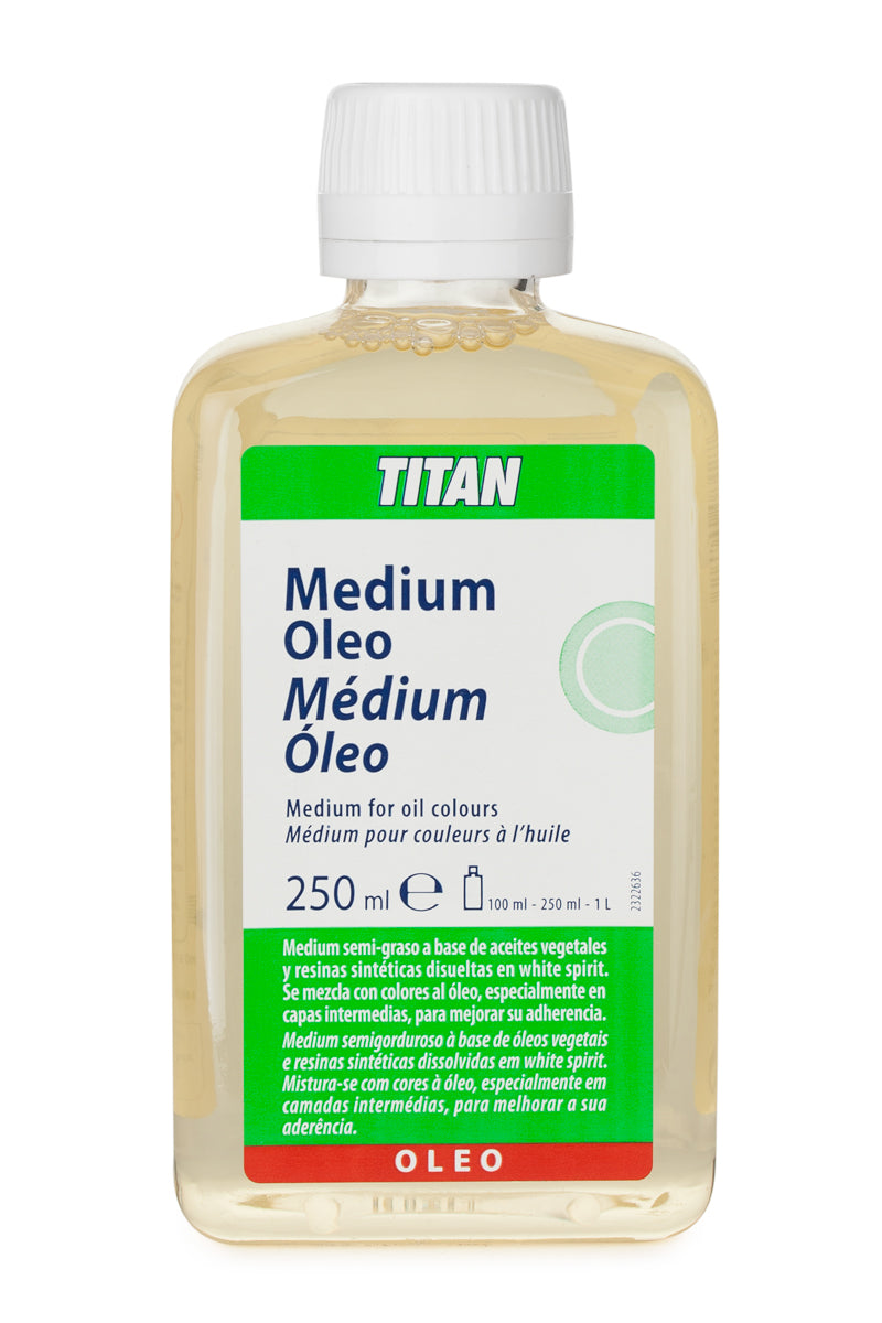 Medium Óleos TITAN 250ml