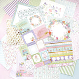 "Set Papeles Scrap ""In Bloom"" 12x12"" CRAFT SMITH"