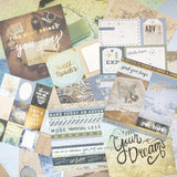 "Set Papeles Scrap ""Travelouge"" 12x12"" CRAFT SMITH"