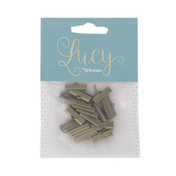 Clasp Claws 10Mm Gold 30Pcs