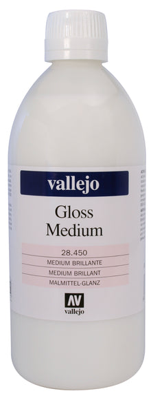 Medium Brillante Acrílicos 500ml Vallejo