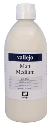 Medium Mate Acrílicos 500ml Vallejo