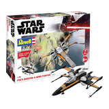 Maqueta Star Wars Poes Boosted X Wing Revell
