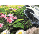 "Kit Pintar con Diamantes 48x38cm ""Cat Morning"" CdA"