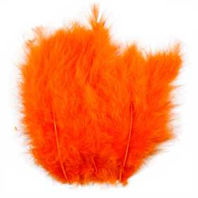 Plumas, 5-12Cm, 15 Pcs, Orange