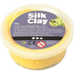 Pasta Silk Clay 40 Gr Yellow Amarillo