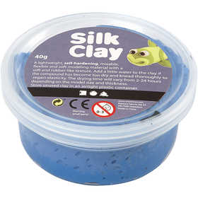 Pasta Silk Clay 40 Gr Blue Azul