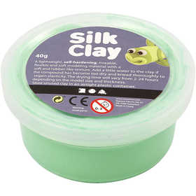 Pasta Silk Clay 40Gr Light Green Verde