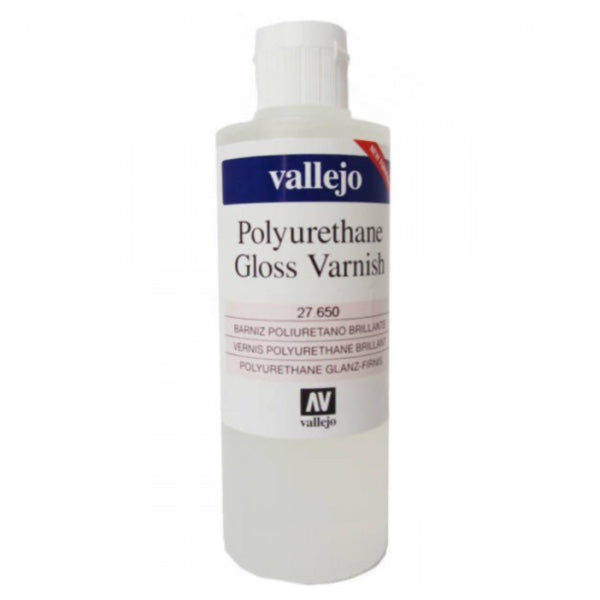 Barniz Poliuretano Brillante 200ml Vallejo