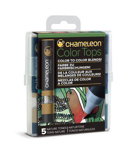 Color Tops Chameleon x5 Nature Tones