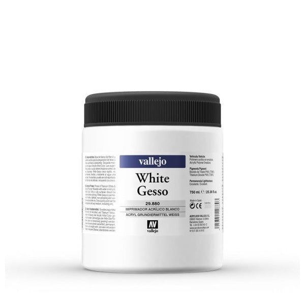 Gesso Blanco 750ml Vallejo
