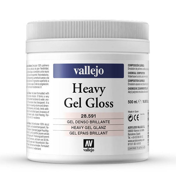 Heavy Gel Brillante 500ml Vallejo