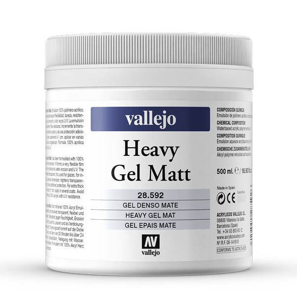 Heavy Gel Mate 500ml Vallejo