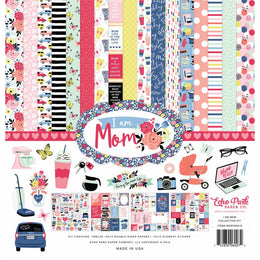"Kit Scrapbooking I am Mom 12x12"" Echo Park"