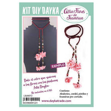 Kit Collar Foamiran Lisanto Granate Dayka