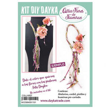 Kit Collar Foamiran Peonia Multicolor Dayka