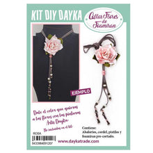 Kit Collar Foamiran Rosa Real Dayka