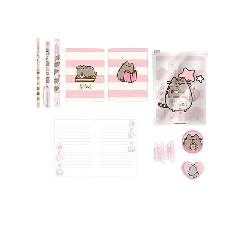 Super Set de Papelería Sweet & Simple Pusheen
