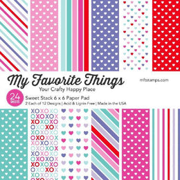 "Set de Papeles Sweet Stack 6x6"" My Favorite Things"