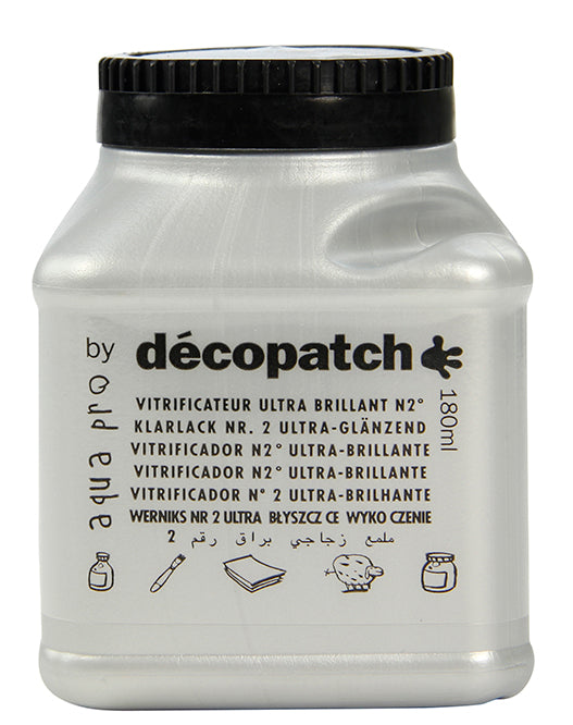 Barniz Vitrificador Ultra Brillante 180ml Décopatch