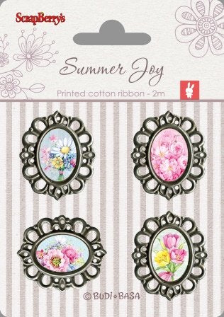 Adornos Metal Scrap Summer Joy Scrapberry's