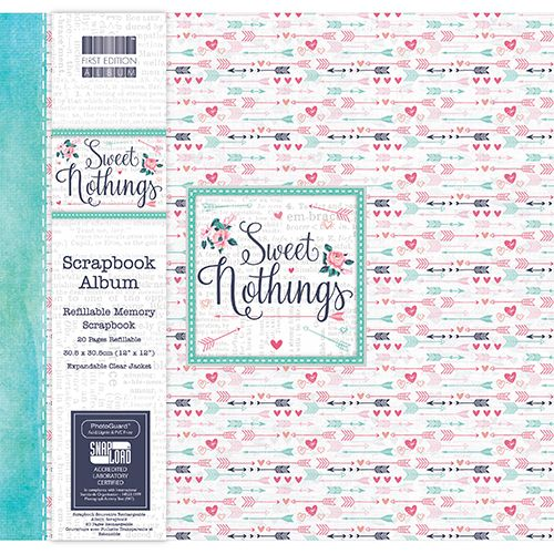Álbum Scrapbooking Sweet Nothings Flechas 12x12""