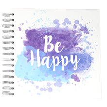 "Álbum Scrapbooking Anillas 'Be Happy' 8x8"" Simply Creative"