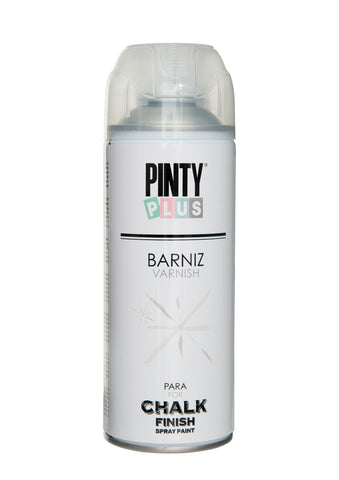Barniz en Spray Chalk MATE 520cc Pintyplus