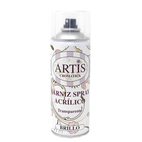 Barniz Spray Acrílico Efecto Brillo 400ml ARTIS Dayka