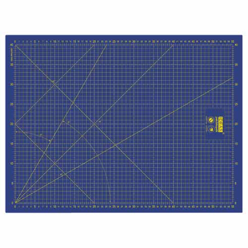 Base de Corte Patchwork 60x45 cm Azul IDEAS