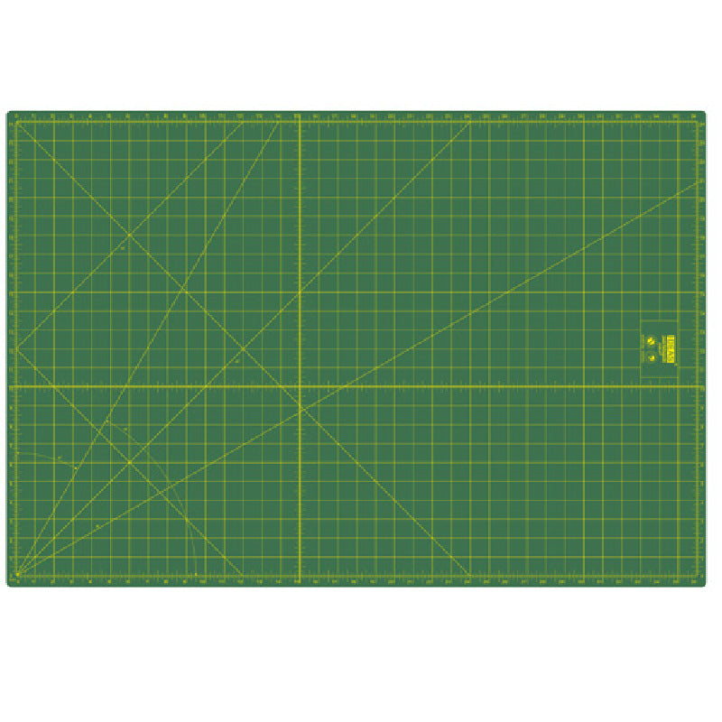 Base de Corte Patchwork 94x64 cm Verde IDEAS