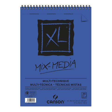 Bloc Mix-Media Multi-Técnica A3 300gr Canson