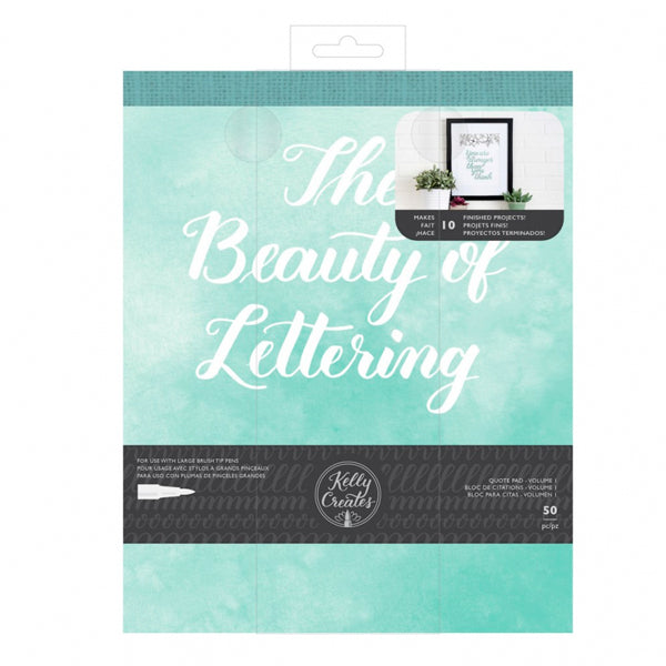 Bloc Prácticas 'The Beauty of Lettering' Kelly Creates