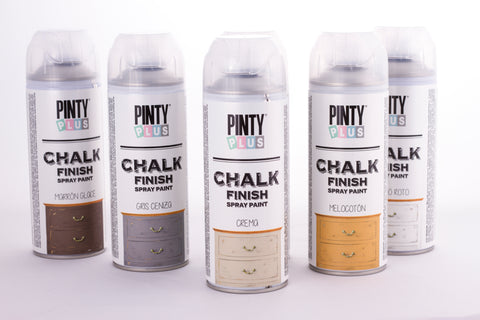 Chalk Paint en Spray 520cc Pintyplus