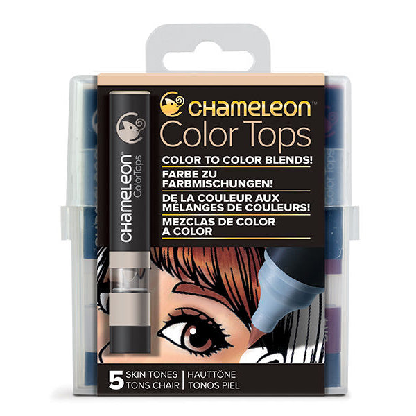 Color Tops Chameleon Tonos Piel