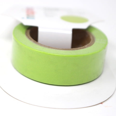 Cinta Washi Tape Verde Pistacho 15mm x 10m