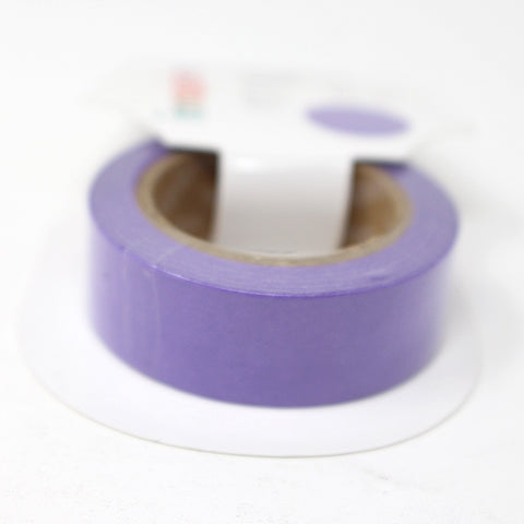 Cinta Washi Tape Lila 15mm x 10m