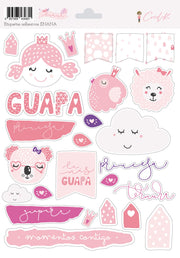 Stickers Scrapbooking Enana Cocoloko Scrap