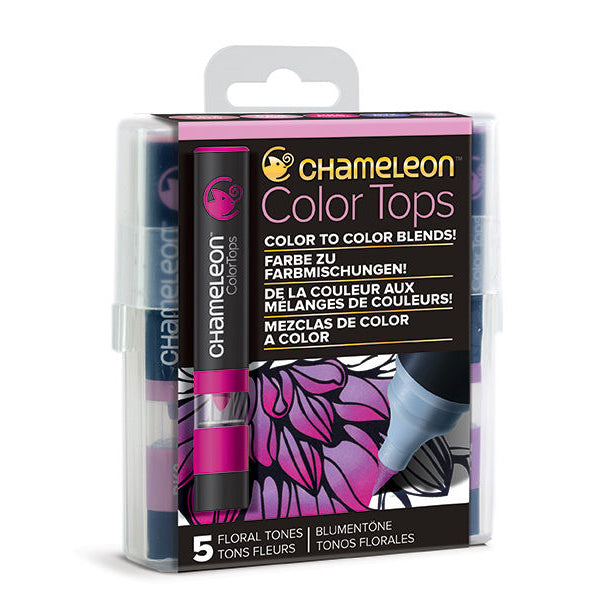 Color Tops Chameleon Tonos Florales