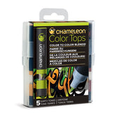 Color Tops Chameleon Tonos Tierra