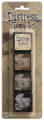 Distress Ink MINI Kit3 4 Unidades Tim Holtz