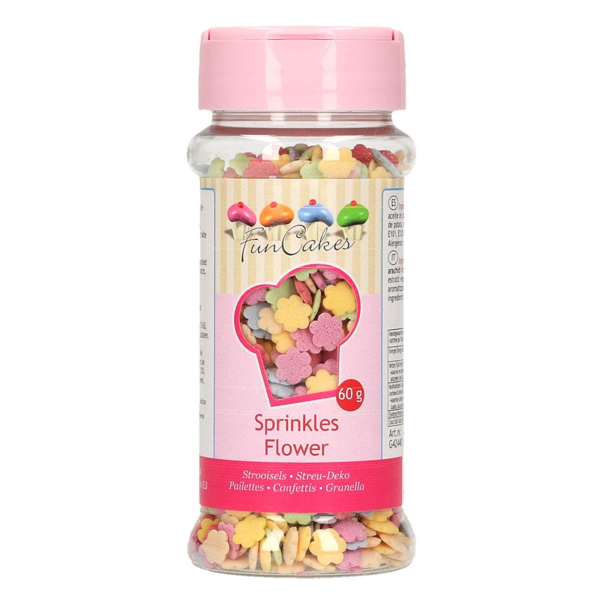 Virutas Flores de Color 50gr Funcakes
