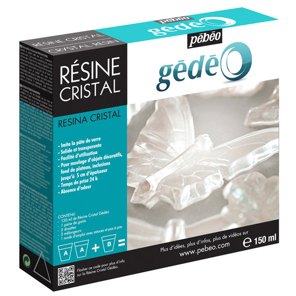 Resina Cristal Gedeo  150ml Pebeo
