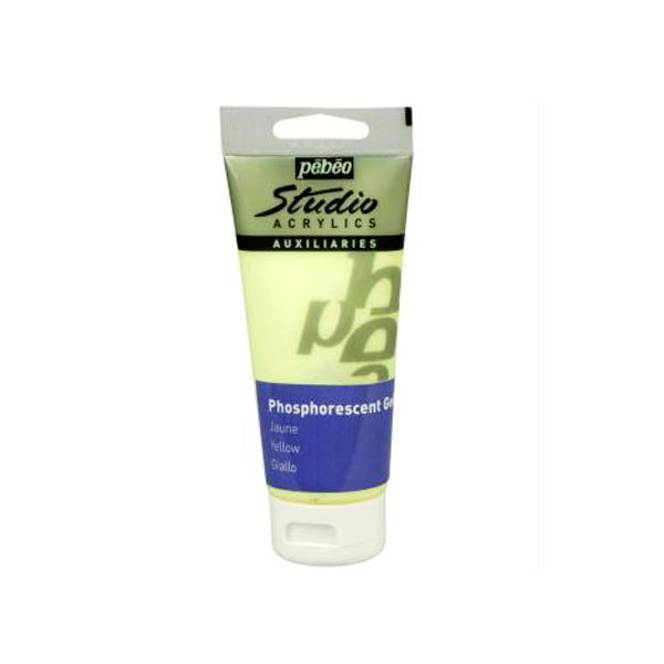 Gel Fosforescente Amarillo 100ml Pebeo