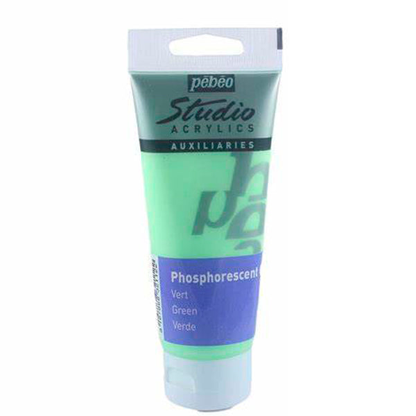 Gel Fosforescente Verde 100ml Pebeo