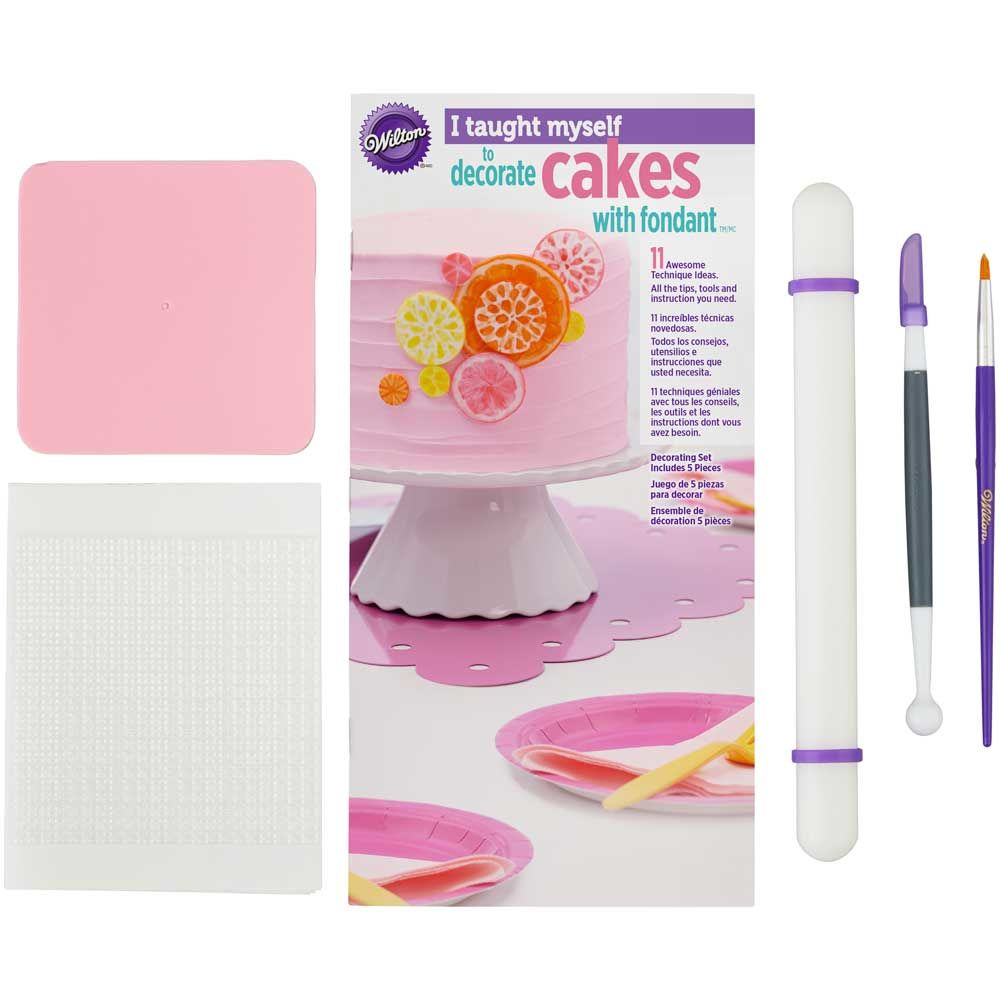 Kit para Decorar Tartas con Fondant Wilton