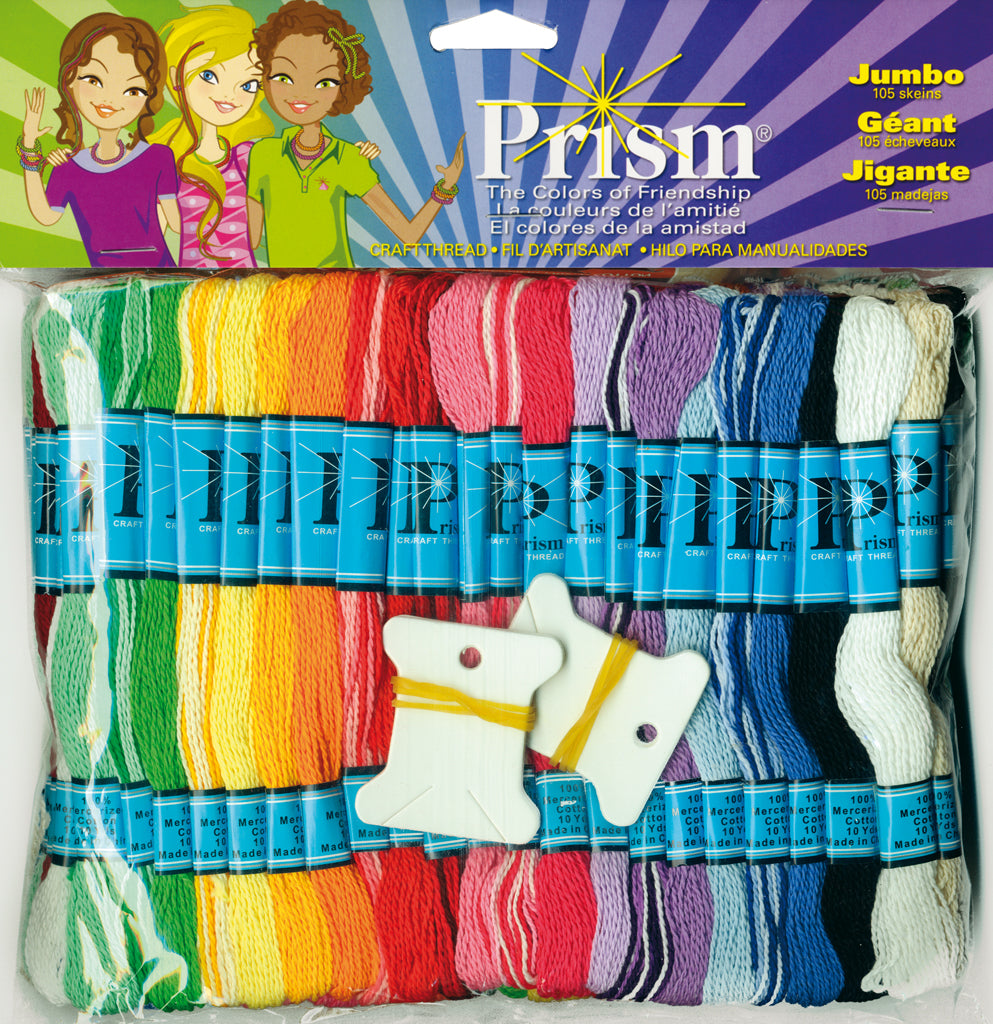 Hilo Prism Craft Jumbo Multicolor DMC